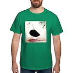 Saddle Homing Pigeon Dark T-Shirt