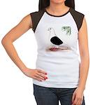 Saddle Homing Pigeon Women's Cap Sleeve T-Shirt