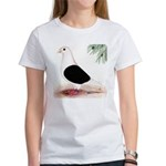 Saddle Homing Pigeon Women's T-Shirt