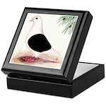 Saddle Homing Pigeon Keepsake Box