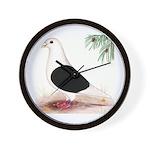 Saddle Homing Pigeon Wall Clock