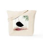 Saddle Homing Pigeon Tote Bag