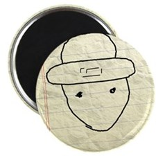 "Mobile leprechaun 2.25"" Magnet (10 pack)"