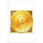 Bitcoins-3 Large Poster