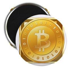 "Bitcoins-3 2.25"" Magnet (10 pack)"