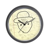 Cool Mobile leprechaun Wall Clock