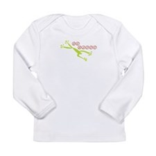 Be Happy Frog Long Sleeve Infant T-Shirt