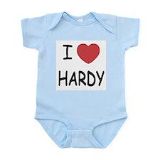 I heart hardy Infant Bodysuit