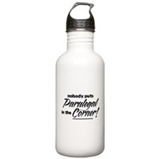 Paralegal Nobody Corner Water Bottle