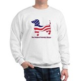 Original Patriotic Wiener Sweater