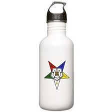 O. E. S. Emblem Water Bottle