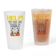 Killer Dice Pint Glass