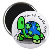World Turtle Day Magnet