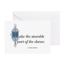 Capricorn Quote Greeting Card