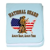 National Guard Always Ready baby blanket