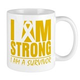 I am Strong Appendix Cancer Mug