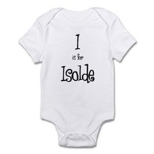 I Is For Isolde Infant Creeper