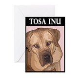 Unique Tosa inu Greeting Cards (Pk of 10)