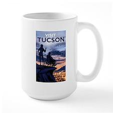 Visit Tucson large mug