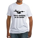 Something on the Nacelle! Fitted T-Shirt