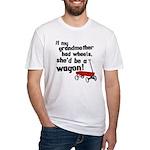 Star Trek Wagon Fitted T-Shirt