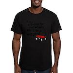 Star Trek Wagon Men's Fitted T-Shirt (dark)