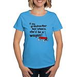 Star Trek Wagon Women's Dark T-Shirt