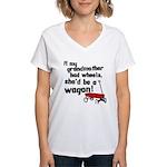 Star Trek Wagon Women's V-Neck T-Shirt