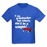 Star Trek Wagon Kids Dark T-Shirt
