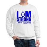 I am Strong Colon Cancer Sweatshirt