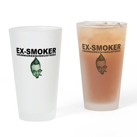 Ex-Smoker Pint Glass