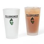 Ex-Smoker Pint Glass