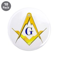 "Masonic 3.5"" Button (10 pack)"