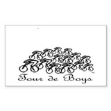Tour de Boys Decal
