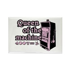 Queen of the machine Rectangle Magnet (10 pack)