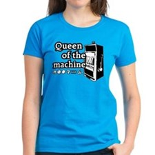 Queen of the machine Tee