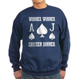 WINNER CHICKEN DINNER Sweatshirt