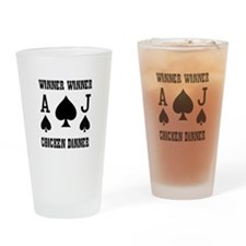 WINNER CHICKEN DINNER Pint Glass