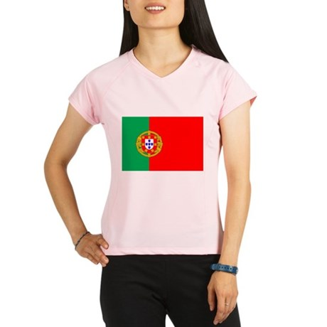 Portuguese, Flag of Portugal Women's double dry sh
