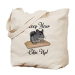 Keep Your Chin Up Tote Bag