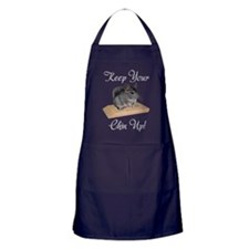 Keep Your Chin Up Apron (dark)