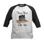 Keep Your Chin Up Kids Baseball Jersey