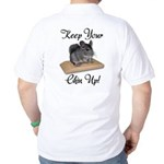 Keep Your Chin Up Golf Shirt