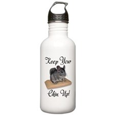 Keep Your Chin Up Sports Water Bottle