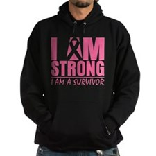 I am Strong Breast Cancer Hoodie