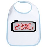Too Damn Early Clock Shirt Bib