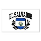 El Salvador Decal
