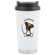 Funny Boxer Ceramic Travel Mug