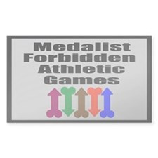 Forbidden Athletic Games Decal