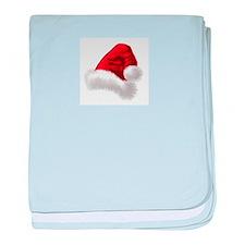 Christmas Santa Hat baby blanket